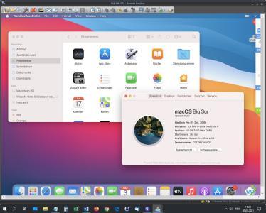 WiseMo Fernzugriff von Windows 10 Pro auf macOS Big Sur