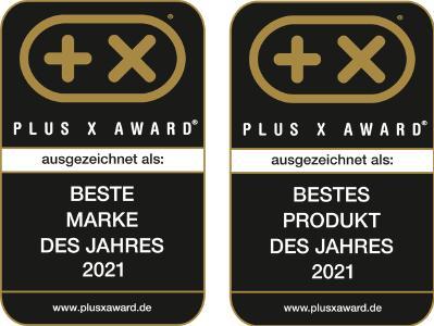 Die brainLight GmbH wurde im April 2021 mit den Plus X Award-Siegeln Beste Marke und Bestes Produkt gekürt