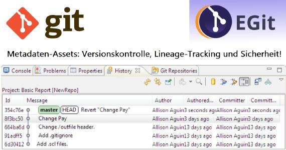 Dieser Artikel ist der erste in einer 4-teiligen Serie über die Verwaltung von Metadaten-Assets in der IRI Workbench IDE. Er konzentriert sich auf den Wert eines Metadaten-Hubs im Allgemeinen und einer Egit-Implementierung im Besonderen. Die nachfolgenden Artikel der Serie behandeln die Verwendung von EGit für Metadaten-Assets: Versionskontrolle, Lineage-Tracking und Sicherheit