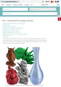 Informationen über die Vor  und Nachteile der zahllosen 3D Druckmaterialien sowie Verwendungshinweise