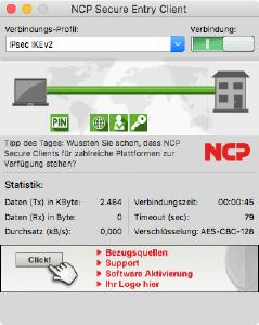 NCP Secure Entry macOS Client