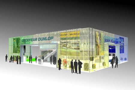 Goodyear Dunlop Messeauftritt: Ein Konzern mit starken Marken stellt sich vor