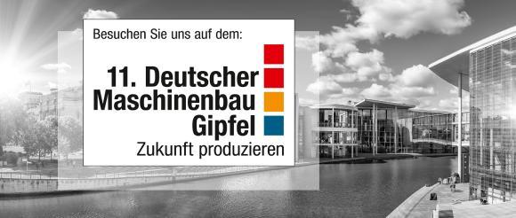 11. Deutscher Maschinenbau Gipfel vom 15.-16. Oktober 2019 mit dem Lino Team.