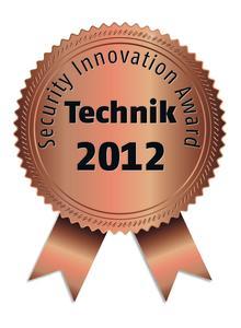 Security Innovation Award 2012