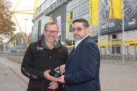 Stewarding service safeguards Germany's largest national football league stadium with Hytera