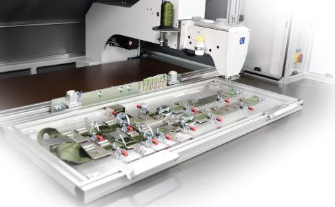 CNC-controlled sewing unit KL 310