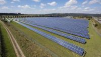 So ähnlich wie in Leutkirch wird später das Solarkraftwerk in Inzigkofen aussehen / Foto: Uli Deck/EnBW