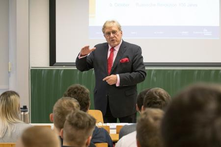 Prof. Michael Militzer, Organisator des Branchentags Automotive 2018 (© Norman Hera)