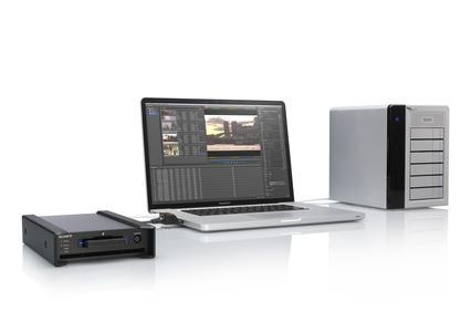 Neues Speicherlaufwerk für SRMemory-Medien von Sony