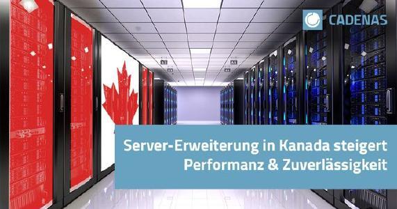 CADENAS erweitert Serverinfrastruktur um nordamerikanischen Standort