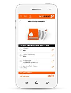 SAXOPRINT launches mobile website