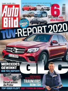 Titelseite AutoBild TÜV-Report 2020
