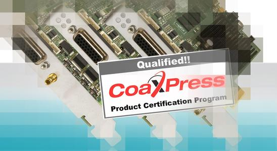 CoaXPress Compliance Certificate for Euresys CoaXLink Series