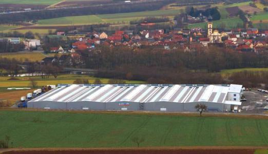 Europas größte PV-Dachanlage mit CIS Modultechnologie spart jährlich über 569 Tonnen CO2 ein