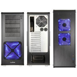 Cubitek HPTX ICE Aluminium Big -Tower -  schwarz