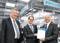 Festo ist erneut Preferred-Supplier der Bosch-Gruppe