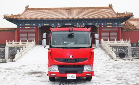 Bereits zwanzig Renault Midlum Löschfahrzeuge orderte China bei Renault Trucks, zwei davon für die Verbotene Stadt