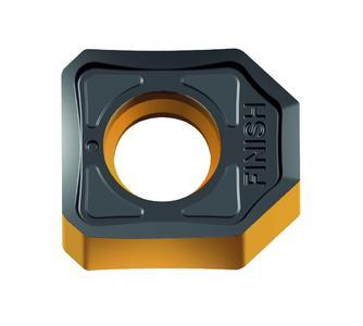 Die neue Breitschlichtwendeplatte von WALTER ist das perfekte Zubehör für die Planfräser F4033 und Kassettenfräser F2010. Der Schlichtarbeitsgang wird überflüssig.