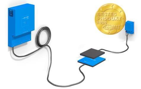 etaLINK 12000 ist das weltweit einzige Wireless-Charging-System mit einer Leistung von 12 kW.