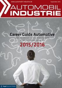 """Der """"Career Guide Automotive"""" gibt einen Einblick in die Arbeitgeber der Automobilindustrie."""