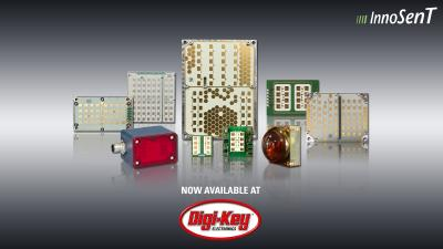 Radar range from InnoSenT now available at Digi-Key Electronics