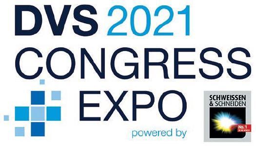 Das Logo zur Veranstaltung DVS CONGRESS 2021 + EXPO / Quelle: DVS
