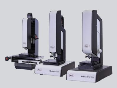 Die drei Weißlichtinterferometer der neuen MarSurf-WI-Serie messen Strukturen und Topografien bis im unteren Nanometerbereich
