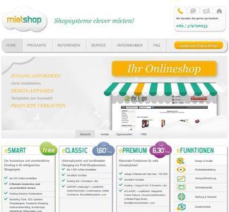 """Zaunz Publishing präsentiert seine neue Shopsoftware-Produktlinie """"Mietshop"""""""