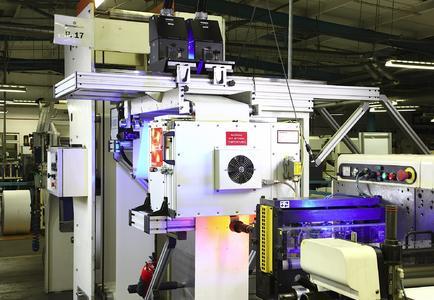 Durch den Einsatz von Carbon Infrarot-Strahlern von Heraeus für Eindrucke auf Parktickets kann die Trocknung mit neuen Hochgeschwindigkeitsdruckköpfen im Digitaldruck Schritt halten / Bild: Heraeus Noblelight GmbH