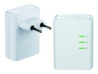 D-Link PowerLine AV 500 HD Mini Starter Kit (DHP-509AV) - Frontansicht