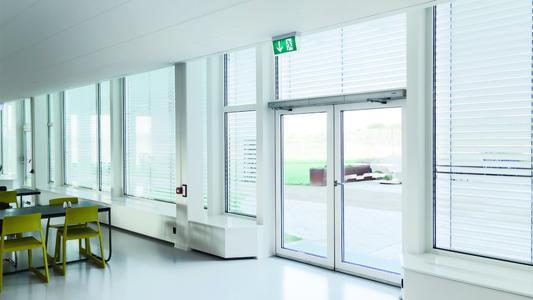 Innovative Lösungen für Türen und Fenster für den vorbeugenden Brandschutz / Foto: GEZE GmbH