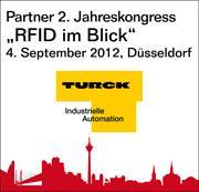 """TURCK als Partner auf dem 2. Jahreskongress """"RFID im Blick"""""""