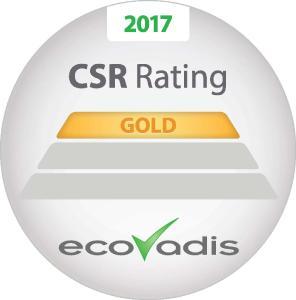 """Mit dem """"Recognition Level"""" in Gold werden nur die besten ein Prozent aller bewerteten Unternehmen ausgezeichnet"""