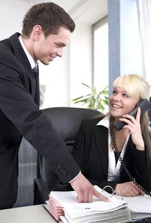 Beruf mit Zukunftsperspektive: 700 Schulabgänger entschieden sich 2009 für die Ausbildung zur/m Personaldienstleistungskauffrau/-mann. Foto: Wolfram Linke