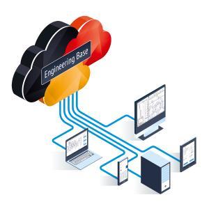 Der neue Hosting-Service für die kooperative Plattform EB ermöglicht neue Engineering-Flexibilität – ohne Software-Implementierungs- und Pflegeaufwand (© AUCOTEC AG)