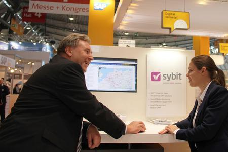 Sybit auf der IT und Business