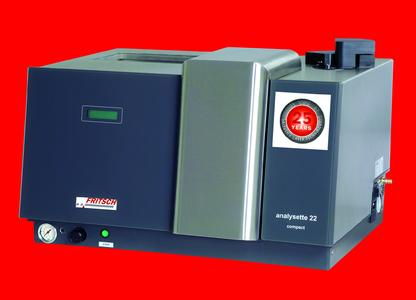 Laser Particle Sizer ANALYSETTE 22 COMPACT - Anniversary Edition