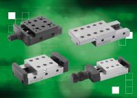 norelem bietet eine umfassende Auswahl an Schwalbenschwanz- und rollengelagerten Präzisions-Schlittenführungen.