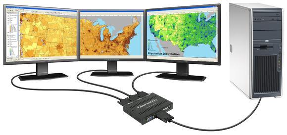 Matrox TripleHead2Go Digital Edition SD Desktop GIS