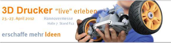 """3D Drucker """"live"""" Hannover Messe"""
