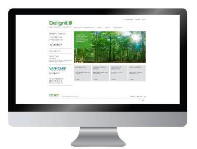 Neuer Delignit®-Webauftritt
