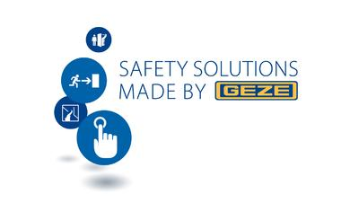 Safety Solutions. Made by GEZE