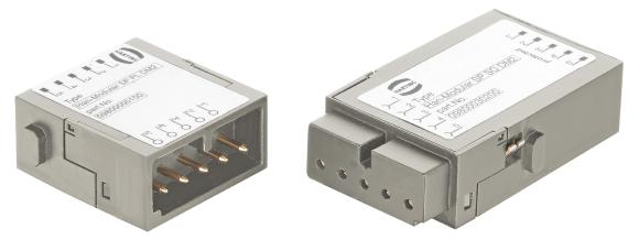 The new overvoltage protection module from the Han-Modular® series brings surge protection into the connector, making integration much easier