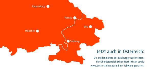 Jobware jetzt auch in Österreich