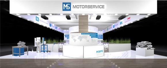 Automechanika fair booth 2016
