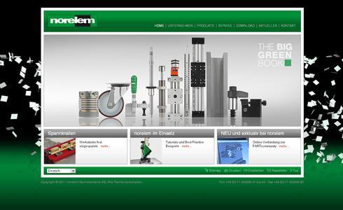 norelem: neuer Webauftritt online