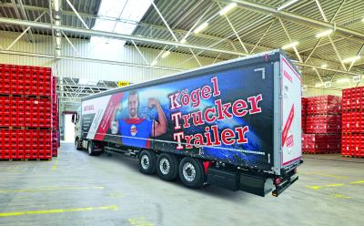 Kögel expose une nouvelle version du Kögel Trucker Trailer au salon transport logistic