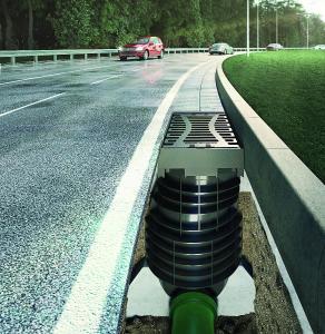 ACO Straßenablauf Combipoint PP mit Aufsatz