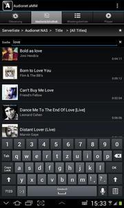Screenshot des Audionet aMM