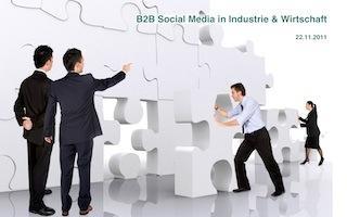 B2B Social Media in Industrie und Wirtschaft